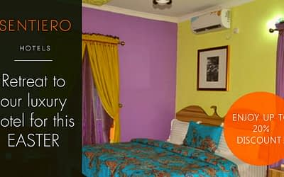 COME AND RELAX THIS EASTER AT SENTIERO HOTELS AND SUITES