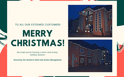 SEASONS GREETINGS FROM SENTIERO HOTELS AND SUITES